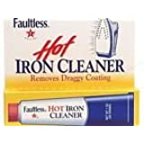1 X Faultless Hot Iron Cleaner