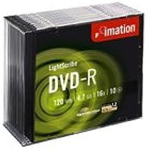 Imation DVD-R 16x LightScribe (10) - DVD+RW vírgenes (Caja de cd)