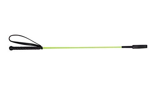 Gerte Reitgerte Springgerte QHP 65cm mit Klatsche (apfelgrün)