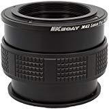 KECAY Macro Focusing Helicoid, Objektiv Adapter M42 42mm Screw Mount Objektiv für Micro 4/3 Four Thirds System Kamera, für Olympus Panasonic Lumix Kamera