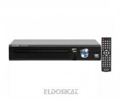 Majestic-Audiola DVD-Player DVX475USB ultrakompakt (USB-MP3-Eingang, MP3, MPEG4)