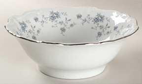 Johann Haviland Blue Garland Round Vegetable Bowl by Johann Haviland Blue Garland Haviland Johann Blue Garland