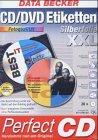 CD/DVD Etiketten XXL Silberfolie Fotoqualität