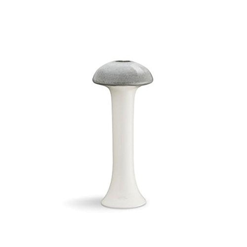 Kähler Design - Ahlmann Kerzenhalter - grau - H20 cm -
