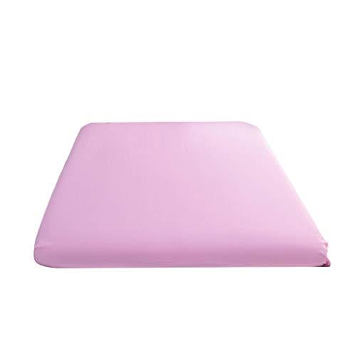 NIUQY Sonderverkauf Luxus Tägliches Wesentliches Spannbetttuch Bettbezug Bettlaken Soft Comfort Solid Color Charakteristisch Geschenk Intelligentes Zuhause