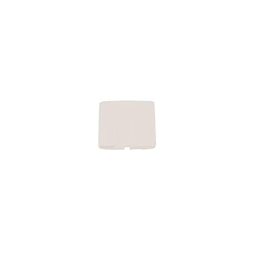 Niessen arco - Tapa ciega serie arco blanco marfil