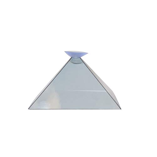 Lacool 3D Hologram Pyramid Display Projector Video Stand Universal for Smart Mobile Phone