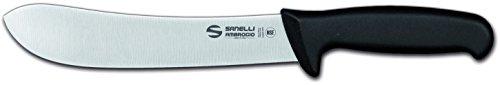 Sanelli Ambrogio Supra Coltello Scimitarra, 20 cm, Acciaio Inox, Grigio, 43x8x2.2 cm