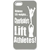 Iphone 5s Case,DIY Cheerleader Cheerleading Pattern for Iphone 5s White Back Cover Phone Case [XMMCASE]