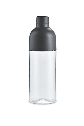 Original MINI Trinkflasche grau - Kollektion 2016/18 Block-logo-hut