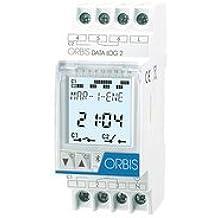 Orbis data log 2 - Interruptor horario digital data log 2 1 circuito 24v corriente continua