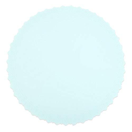 KANG-FANG,Multifunktionale Silikagel-Schutzfilmkissen-Dichtungs-Abdeckung Einfach zu säubern(color:BLAUER SEE)