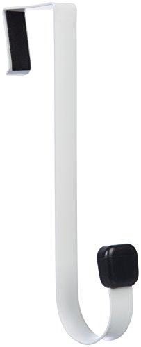 AmazonBasics - Gancho individual colgar puerta, Blanco