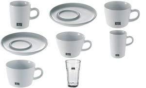 Melitta Kaffee-Tasse ´M-Cups´, weiß, 0,2 l, Inhalt: 6 (Neu)