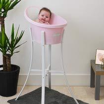 Shnuggle Bathtub Bum Bump + Bath Stand Pink