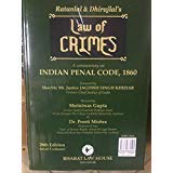 Law of CRIMES Indian Penal Code,1860 (28th edition) 2018 3 Vols set