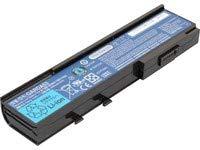 Acer BT.00605.027 Batterie pour Ordinateur Portable Noir