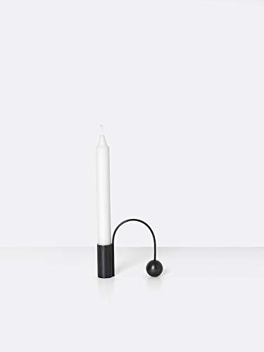 Ferm Living - Balance Kerzenhalter schwarz