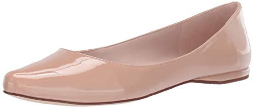Nine West Speakup Damen Ballerinas aus Segeltuch, Weiá (Barely Nude), 7.5 M EU (Damen Schuhe Nine Wohnungen West)