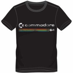 Commodore C64 Black T-shirt for Men - XL Only