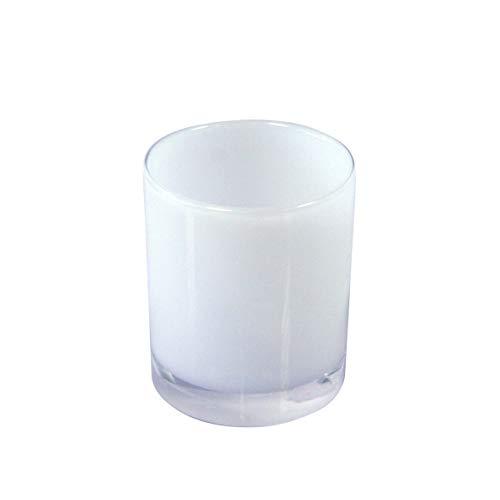 Axentia 282320 Badserie Priamos Zahnputzbecher Acryl, weiß