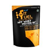 MyFitFuel MFF Whey Protein 80 Coffee Caramel(1 kg) (2.2 lbs)  available at amazon for Rs.1699