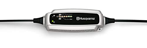 Ladegerät Husqvarna BC 0.8/12 V - Erhaltungsladegerät für Rasentraktoren Schneefräsen u.a.