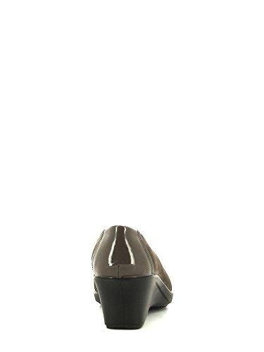 IGI&Co , Ballerines pour femme Noir/beige - T.moro