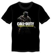 Call of Duty INFINITE WARFARE SOLDIER MENS BLACK TEE - L