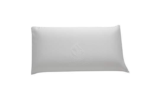 Cozzy VISCO Almohada Viscoelastica de 90, Blanco, 90 cm