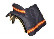Tasche HH für Stühle Segeltuch Typ Jeansstoff oder gemischten Denim Navy/Spanische Flagge - Stuhl Denim