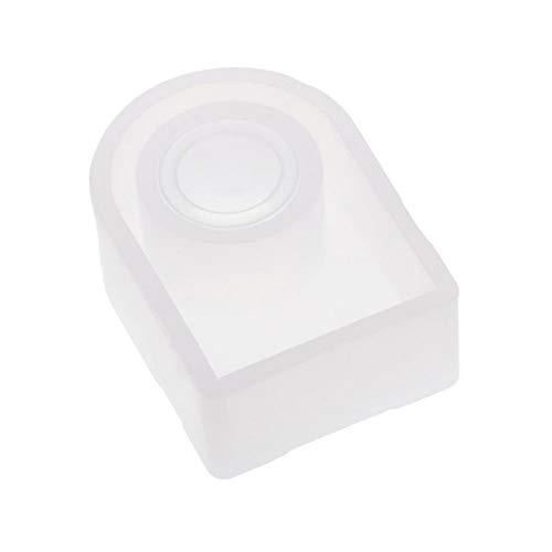 Diy claro molde anillo silicona resina epoxi herramientas