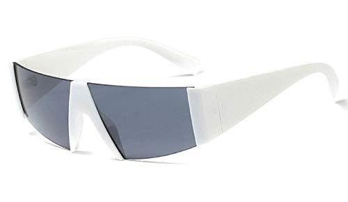 halbrand sonnenbrille männlich quadratisch mode leopard rahmenlose sonnenbrille für frauen 2019 sommer drop ship @ weiß mit schwarz