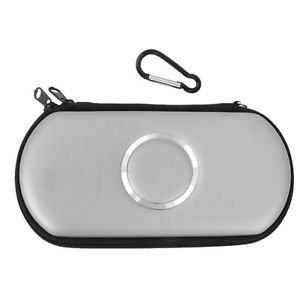 ELECTROPRIME Silver Carry Case Cover Bag Game Pouch Protector For SONY PSP 1000 2000 3000