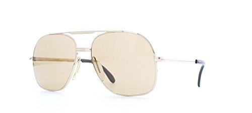 ZEISS 9058 AF7 Gold Certified Vintage Aviator Sunglasses For Mens