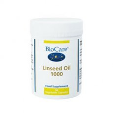 Biocare Linseed Oil 1000g 90 Capsules