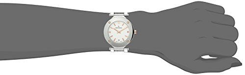 GROVANA-50791152-Womens-Quartz-Swiss-Watch-with-White-Dial-Analogue-Display-and-Silver-Stainless-Steel-Bracelet