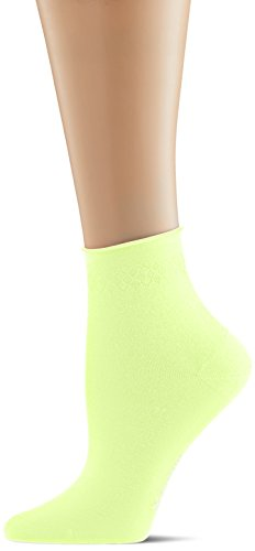 Burlington Damen Socken Neon Darlington, Gelb (Lightning 1690), 36/41