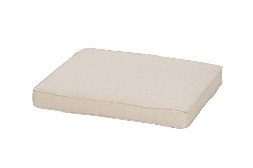 CLP Auflagen für Eisen-Gartenmöbel I Kissen für Eisenstühle und Eisenbänke I In verschiedenen Größen erhältlich 55 x 46 x 7 cm