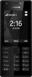Nokia 216 - Black (Dual SIM), A00027901