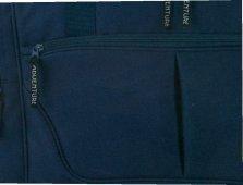 Borsa sportiva 1764Spear Adventure classico con tasca porta cellulare U Indirizzi Fach in 4colori ca. 56,0x 29,0x 26,0cm, nero nero