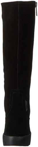 Calvin Klein Jeans Damen Sam Suede Kurzschaft Stiefel Schwarz (Blk)