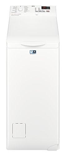 AEG L6TB40260 Waschmaschine/Energieklasse A+++ (150 kWh pro Jahr)/6 kg/Toplader Waschautomat/Schleuderdrehzahl 1200 U/min/ProSense Technologie/Weiß [Energieklasse A+++]