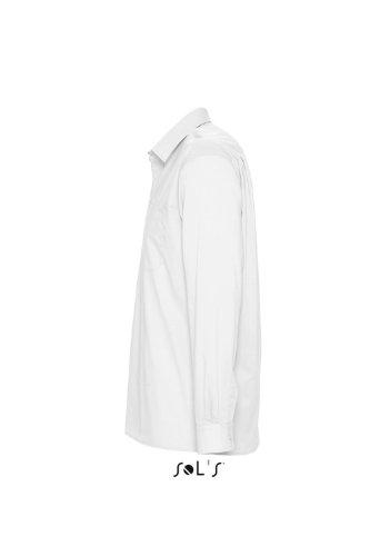 Sol's Balti more camicia a maniche lunghe Bianco