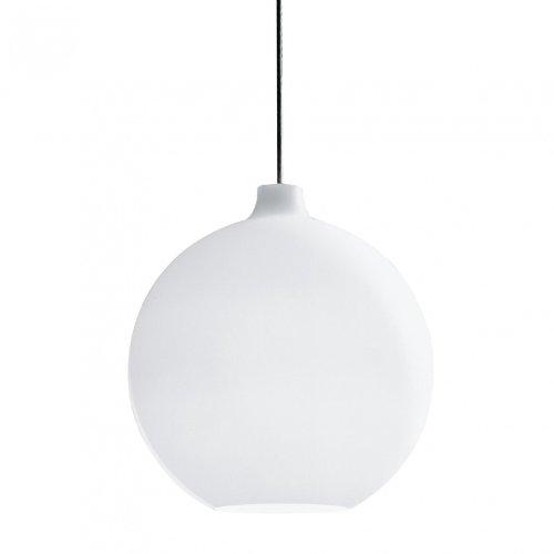 Satellite - Suspension blanc/verre/Ø 35cm