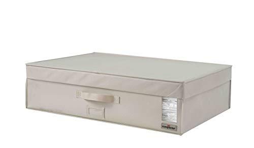 """COMPACTOR Caja Rígida de Almacenaje Al Vacío, Talla XL, 180 l, Beige \""""Coffre 2.0\"""", RAN8304"""