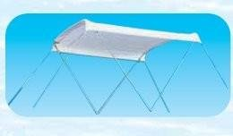 OSCULATI TENDALINO PVC Bianco 2 Archi CM L 130 P 180 H 112