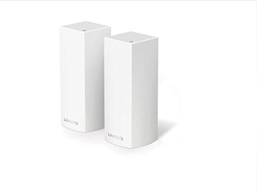 Linksys VELOP Tri-Band Two Pack Mesh Router, weiß