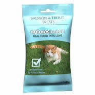 Natures Menu Cat Treats Real Fish Salmon & Trout 60g by Natures Menu