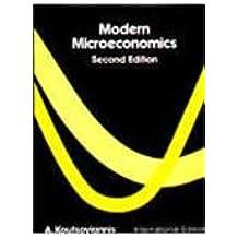 Modern Microeconomics (Intl)